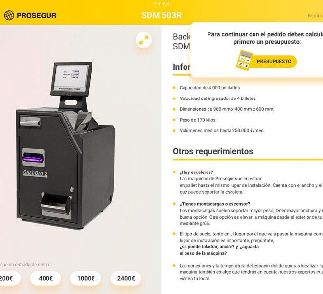 PROSEGUR | Prosegur Cash: App de Realidad Aumentada