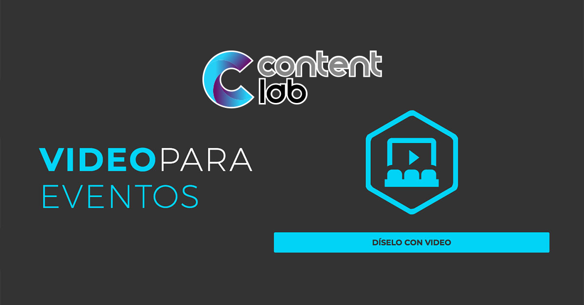 Vídeo para Eventos | Content Lab