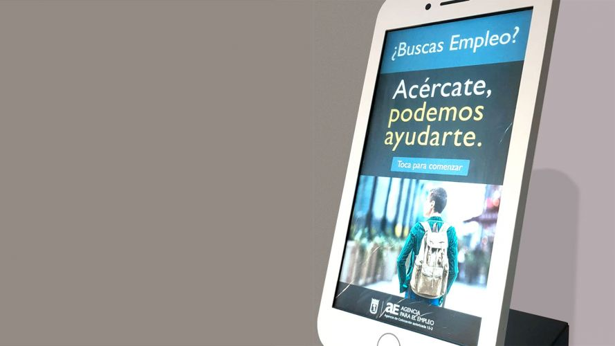 Madrid City Hall | Agency for Employment – Public Service App