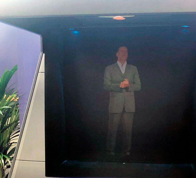 Content Lab en el Global 5G Event 2019 de Valencia: El Holograma de ZTE® y Orange®