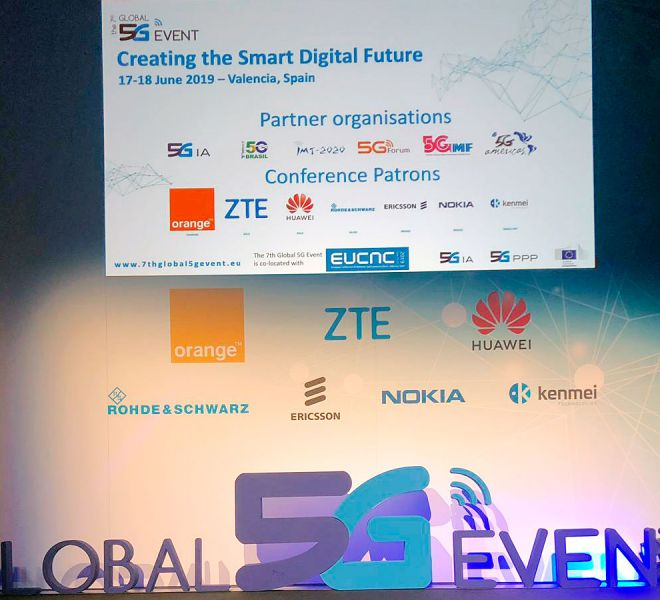 Content Lab en el Global 5G Event 2019 de Valencia: El Holograma de ZTE® y Orange®