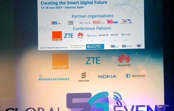 El Holograma de ZTE y Orange | Global 5G Event Valencia