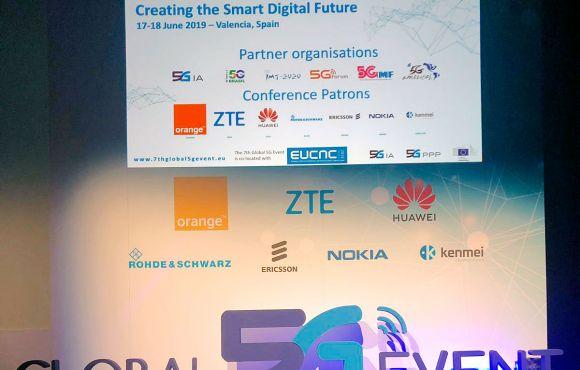 El Holograma de ZTE y Orange | Global 5G Event Valencia